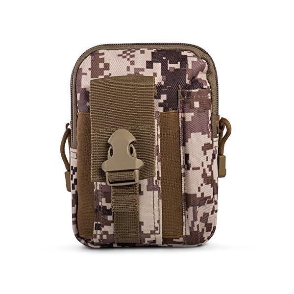 5165paPqT0L Ecigdiy Tactical Molle Tasche Kompakte EDC Mehrzweck-Dienstprogramm Gadget Gürtel Gürteltasche mit Handyholster für…