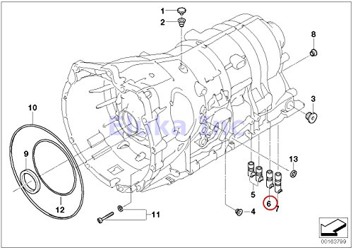 Bmw Oem Automatic Transmission Valve Body Seal To Trans