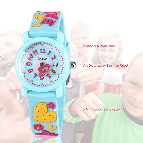 Gift for 3-10 Year Old Girls, Kids Watch for Kids Toy for 3-10 Year Old Girl Gift for Girl Age 3-10 Wristwatch Present for Birthday Little Girl Children by Kids Gift (Image #3)