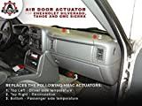 Air Door Actuator - Replaces# 89018365, 604-106, 52402588 - 1994-2012 Chevrolet, Chevy, GMC - Silverado 1500 & 2500, Tahoe, Sierra - HVAC Blend Control Actuator - Heater Blend Door