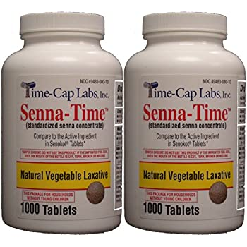 Amazon Com Senna Time Generic For Senokot Natural