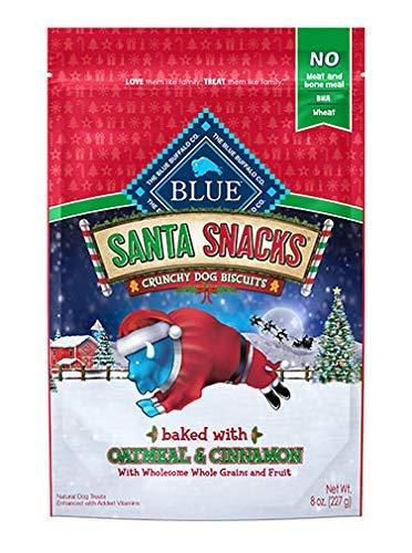 (Santa Snacks Oatmeal & Cinnamon Biscuits 8oz)