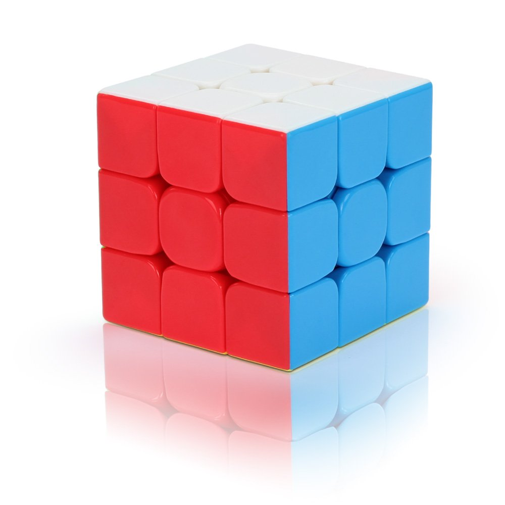 Xtimer X-V6 Anti-pop 3x3 Stickerless Color Speed Cube Puzzle