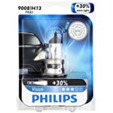 Philips 9008/ H13 Vision Upgrade Headlight Bulb, 1 Pack