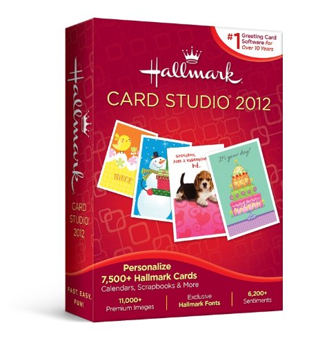 Hallmark Card Studio 2012 [Old Version] by Nova Development US