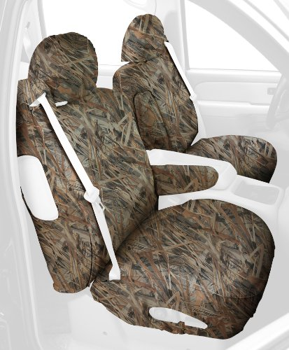 Covercraft Custom-Fit Front Bucket SeatSaver Seat Covers - Polyester Fabric, Flooded Timber - SS3353TTFT