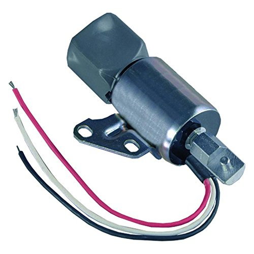 New Heavy Duty 12V Fuel Cutoff Solenoid For Kubota Engines D722, D902, Z482, Replaces Syncro-Start SA4899-12 1756ES 1756ES-12SULB1S5 -  Parts Player, PPFCS1000