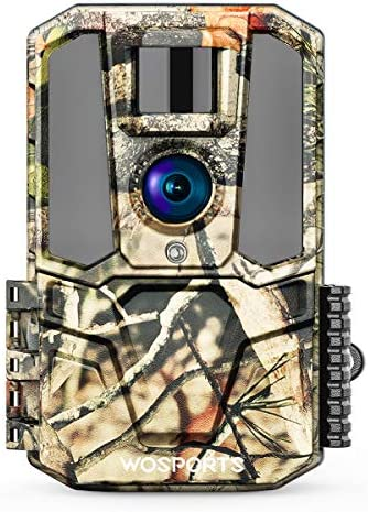 "Trail Game Camera 30MP 1440P HD 2.0"" Color LCD, Hunting Camera Wildlife Cam with IR Night Vision Motion Activated for Outdoor Wildlife Monitoring Home Security Waterproof"