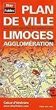 Plan de Limoges et de son agglomération