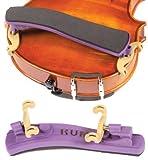 Kun Collapsible Mini Purple Shoulder Rest for 1/16 - 1/4 Violin