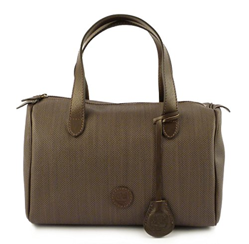 Borsa bauletto Timberland M5565 Marrone 544 Made in Italy