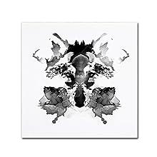 Rorschach by Robert Farkas, 24x24-Inch Canvas Wall Art