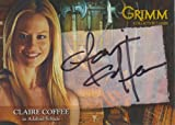 Grimm Autograph Card CCAC-2 Signed by in Black Pen by Claire Coffee as Adalind Schade, a Hexenbiest