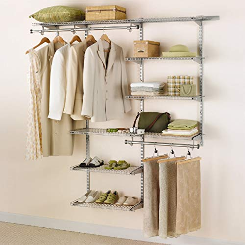 Rubbermaid Configurations 3H8800 3- to 6-Foot Deluxe Custom Closet Kit (Renewed)