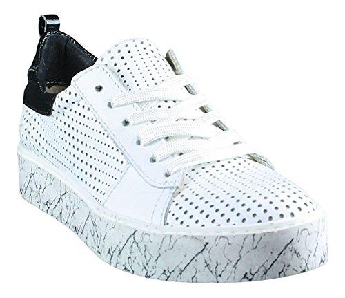 pour Mjus femme blanc Weiß Baskets Bqw6xX
