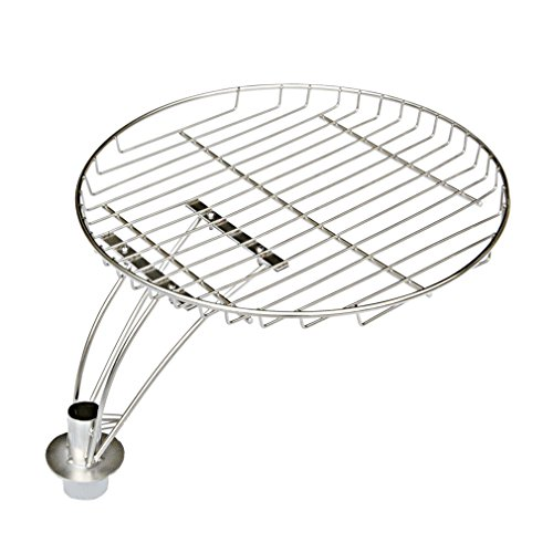 "onlyfire 13.5"" Stainless Steel Cooking Grate with Swivel Shaft for Char-Griller 16620 by onlyfire"