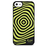 iLuv Aurora Illusion Glow in the Dark Case for iPhone 5C Retail Packaging Black (AILAURIBK)