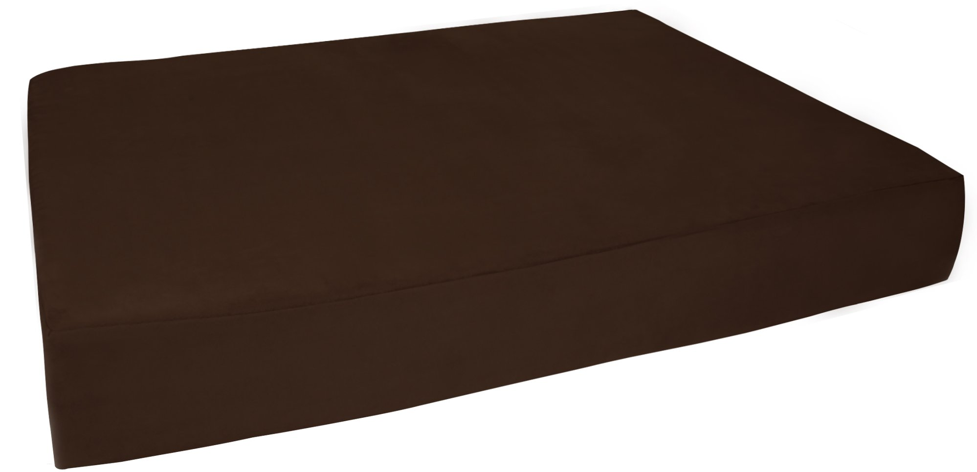 Big Barker 7'' Pillow Top Orthopedic Dog Bed - Large Size - 48 X 30 X 7 - Chocolate - For Large and Extra Large Breed Dogs (Sleek Edition) by Big Barker (Image #10)