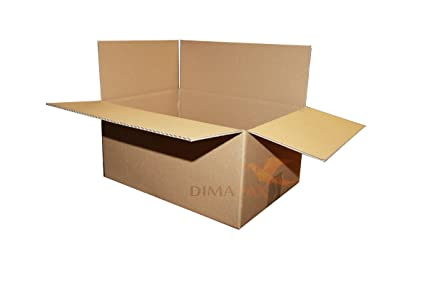 75 Cartons 340 x 240 x 140 mm Boîte pliable Emballage Box ...