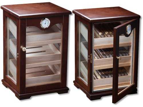 Prestige Import Group Milano Countertop Display Humidor (Humidor Cabinet)