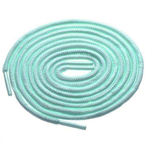 2 Pair BIRCH's Round Athletic Shoelaces, 27 Colors, 3/16