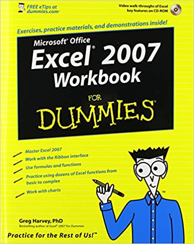 Amazon.com: Excel 2007 Workbook For Dummies (9780470169377): Greg ...