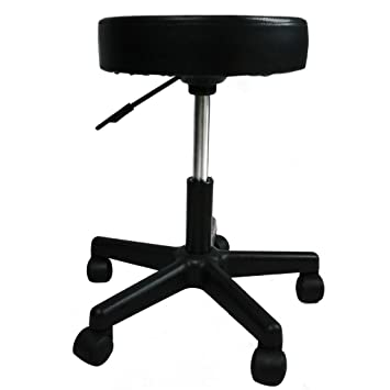 Merveilleux Artist Hand Height Adjustable Swivel Stool Hydraulic Rolling Swivel Stool  On Wheels Portable Massage Cushion Saddle