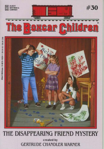 The Disappearing Friend Mystery - Book #30 of the Boxcar Children