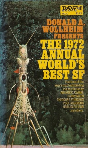 Image for Annual World's Best Science Fiction, 1972 (World's Best SF)