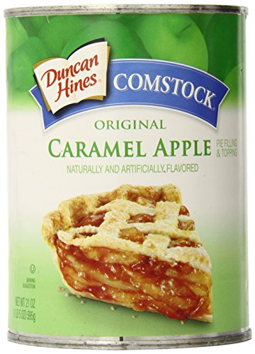 Comstock Original Pie Filling & Topping, Caramel Apple, 21 Ounce (Pack of 12) by Comstock