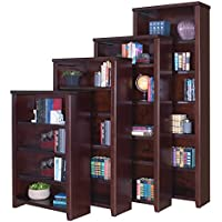 Martin Furniture Tribeca Loft Cherry 84 Bookcase - Fully Assembled
