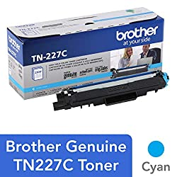 Image of the product Brother Genuine TN227C that is listed on the catalogue brand of Brother. It is scored with a 4.3 over 5.