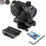 Cheap Huntiger Military Tactical Mini Micro Reflex Red Dot Scope Sight Gear with Qd Quick Riser Mount