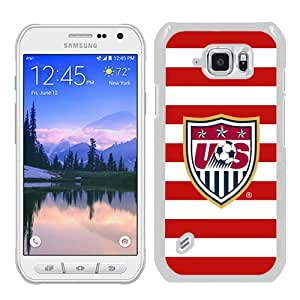 Unique Samsung Galaxy S6 Active Skin Case ,USA Soccer 7 white Samsung Galaxy S6 Active Cover Fashionable And Durable Designed Phone Case