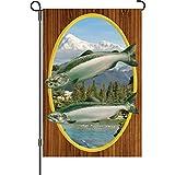 Premier 51231 Garden Brilliance Flag, Chinook Salmon, 12 by 18-Inch