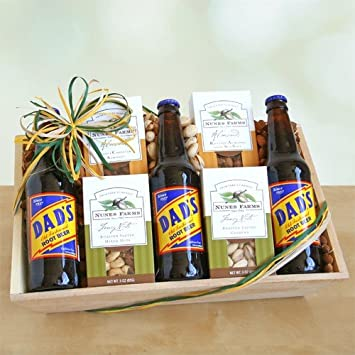 Amazon.com : Nuts for Dad Fathers Day Gift Basket : Gourmet Snacks ...