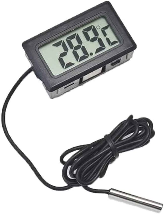 Busirde Termómetro LCD Digital para Nevera Nevera Congelador ...
