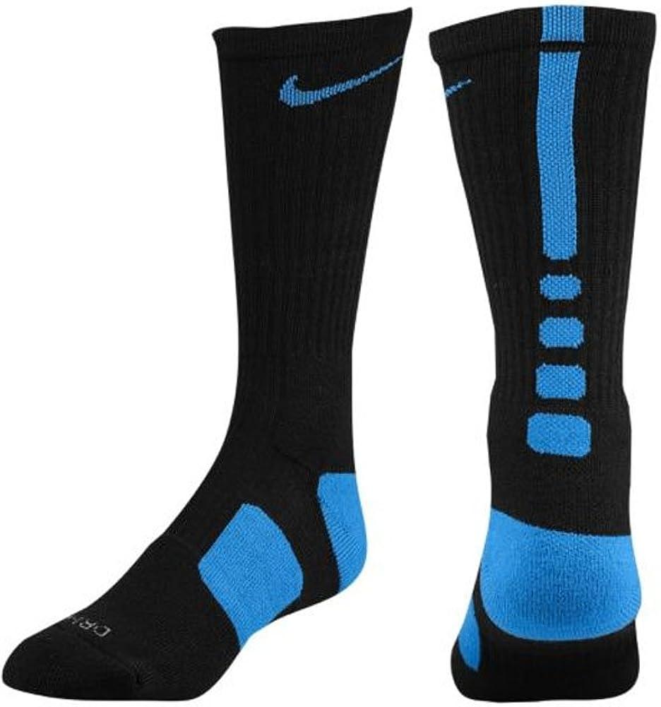 Nike Elite Men's Cushioned Crew Sock Dri-Fit Basketball Size XL Black