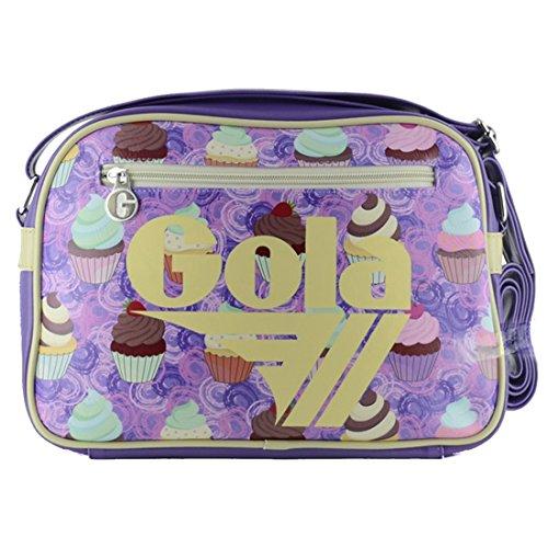 para lila cruzados mujer Bolso violeta Material de Sintético Gola violeta U6zRwXqWq