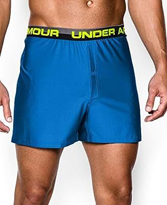 Under Armour Mens UA Original Series Boxer Shorts Small BLUE JET