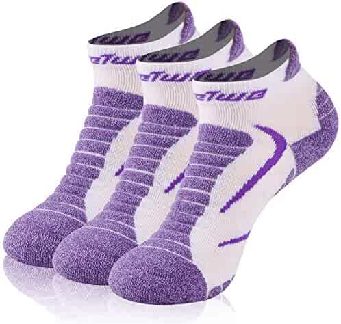 5d34607ea3219 No Show Running Socks, Feelwe Unisex Moisture Wicking Anti Odor Cushion Low  Cut Climbing Hiking