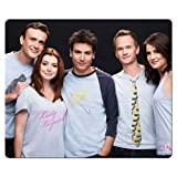 26x21cm 10x8inch Game mousemats rubber cloth personal Soft How I Met Your Mother