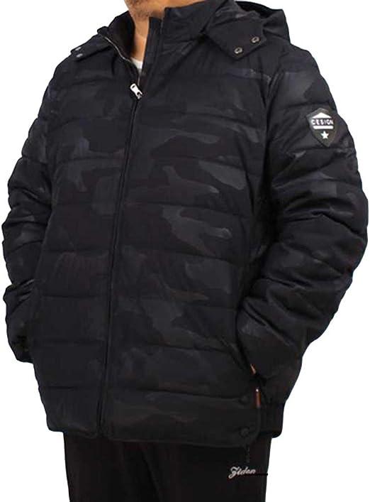 BLKK Abrigo para Hombre Invierno,Chaqueta de Plumas para Hombre ...