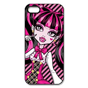 Customize Cartoon Game Monster High Back Cover Case for iphone 5 5S JN5S-2431