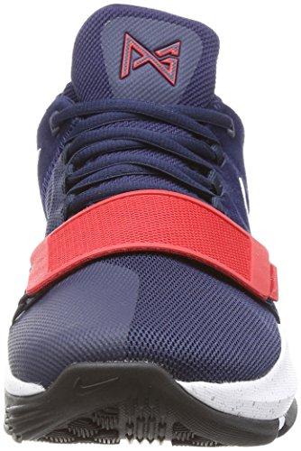 Nike Pg1 Breen Blå Menns Basketball Sko Størrelse 10 Multi-farge /  Multi-farge ...