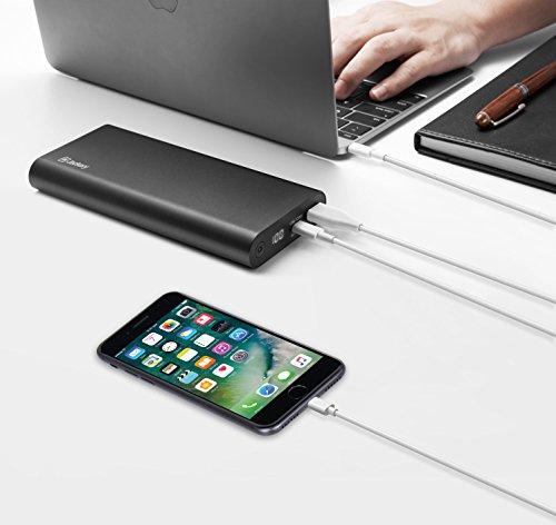 USB C 45W Portable Charger, Jackery SuperCharge 20000 PD Power Bank 19200mAh Battery Pack with Fast Charge for USB C Laptops(e.g. New MacBook, HP), Nintendo Switch, Smartphones [Power Delivery]