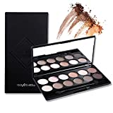 12 Earth Colors Makeup Set Matte Pigment Eyeshadow Palette Cosmetic ...