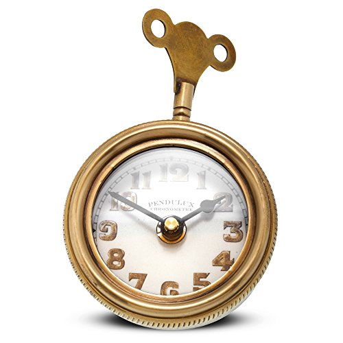 """Pendulux, Table Clock, 3"""" H x 4.5"""" W x 5.5"""" D, 1.15 lbs - Mouse"""