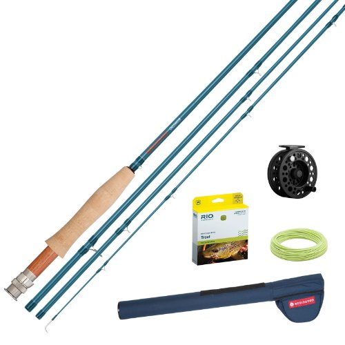 4 Piece Fly Rod Outfit - 5