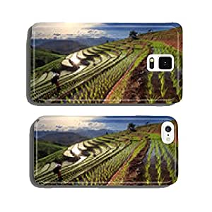 Rice fields on terraced at Chiang Mai, Thailand cell phone cover case Samsung S6